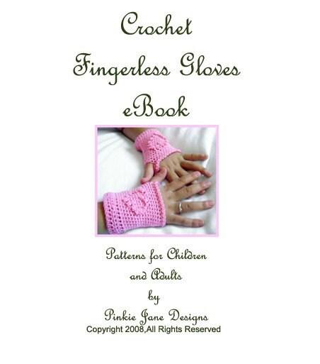 CROCHET FINGERLESS GLOVES LACE PATTERN - Crochet — Learn How