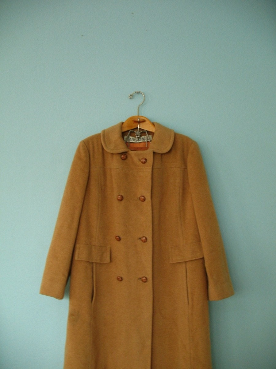 Vintage Camel Fur Coat