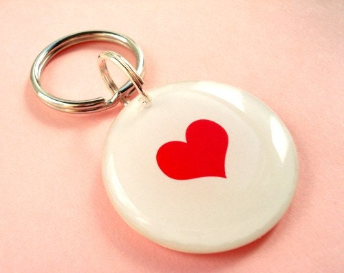 ON SALE  Sending Love to Japan Key Chain or Pet Tag by HappyTags from etsy.com
