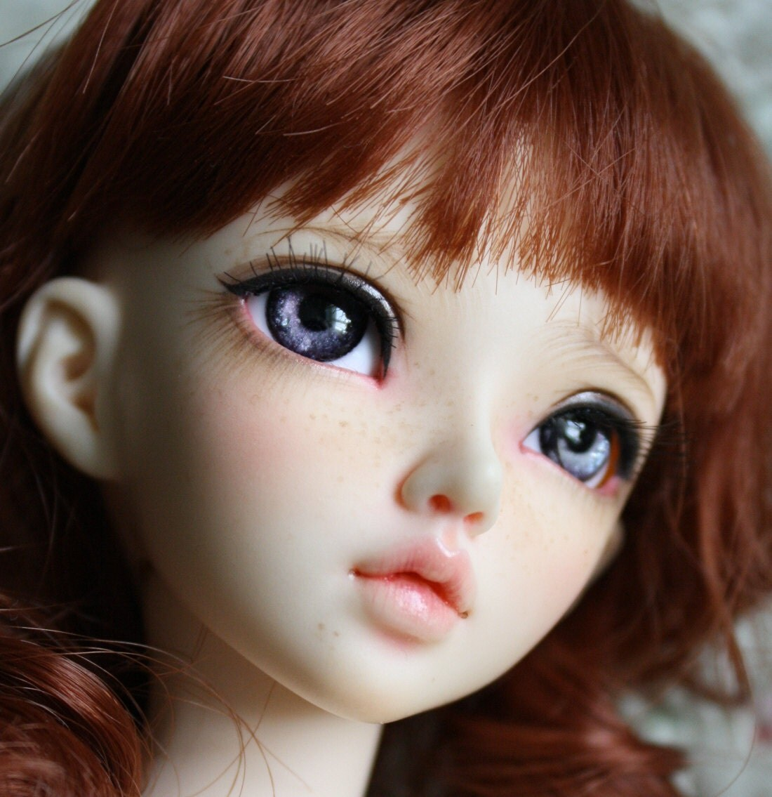 BJD eyes Doll eyes Hand made available in 12141618202224mm Cinnabar Smoke made to order