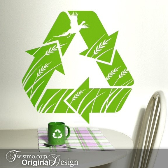 Vinyl Wall Art - This is Recycling Country