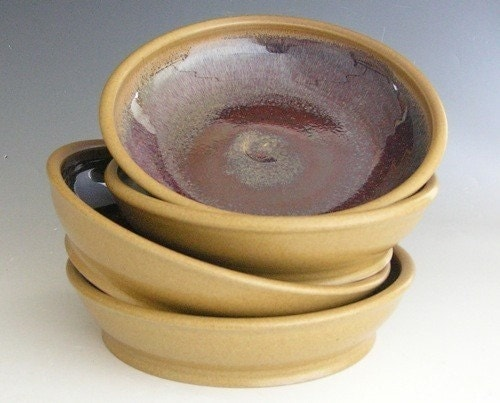 Made to Order.... Pasta Bowls in Honey and Red