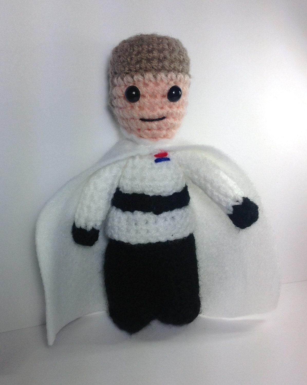 NEW! Director Krennic or Grand Moff Tarkin star Wars inspired crochet character