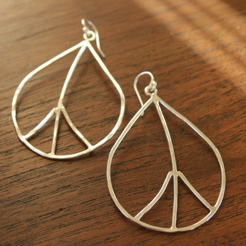 Peace Leaf Earrings