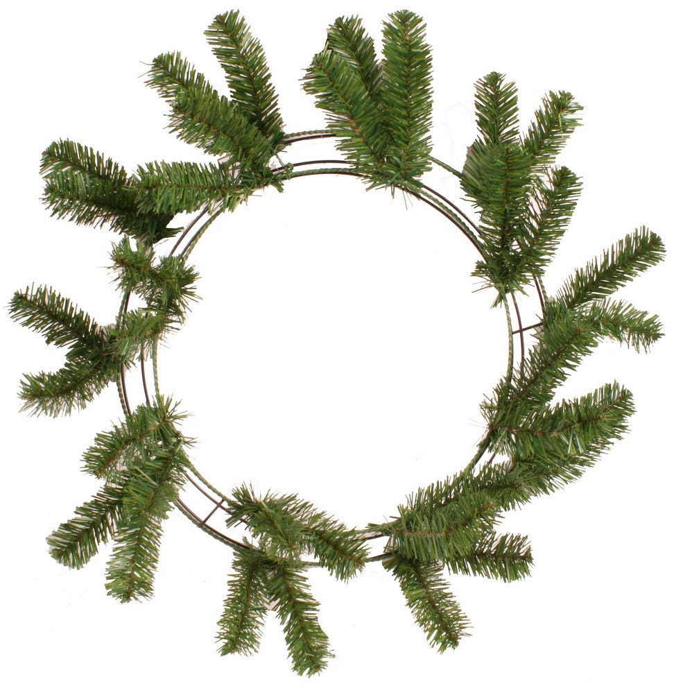 how to make a deco mesh wreath with two colors