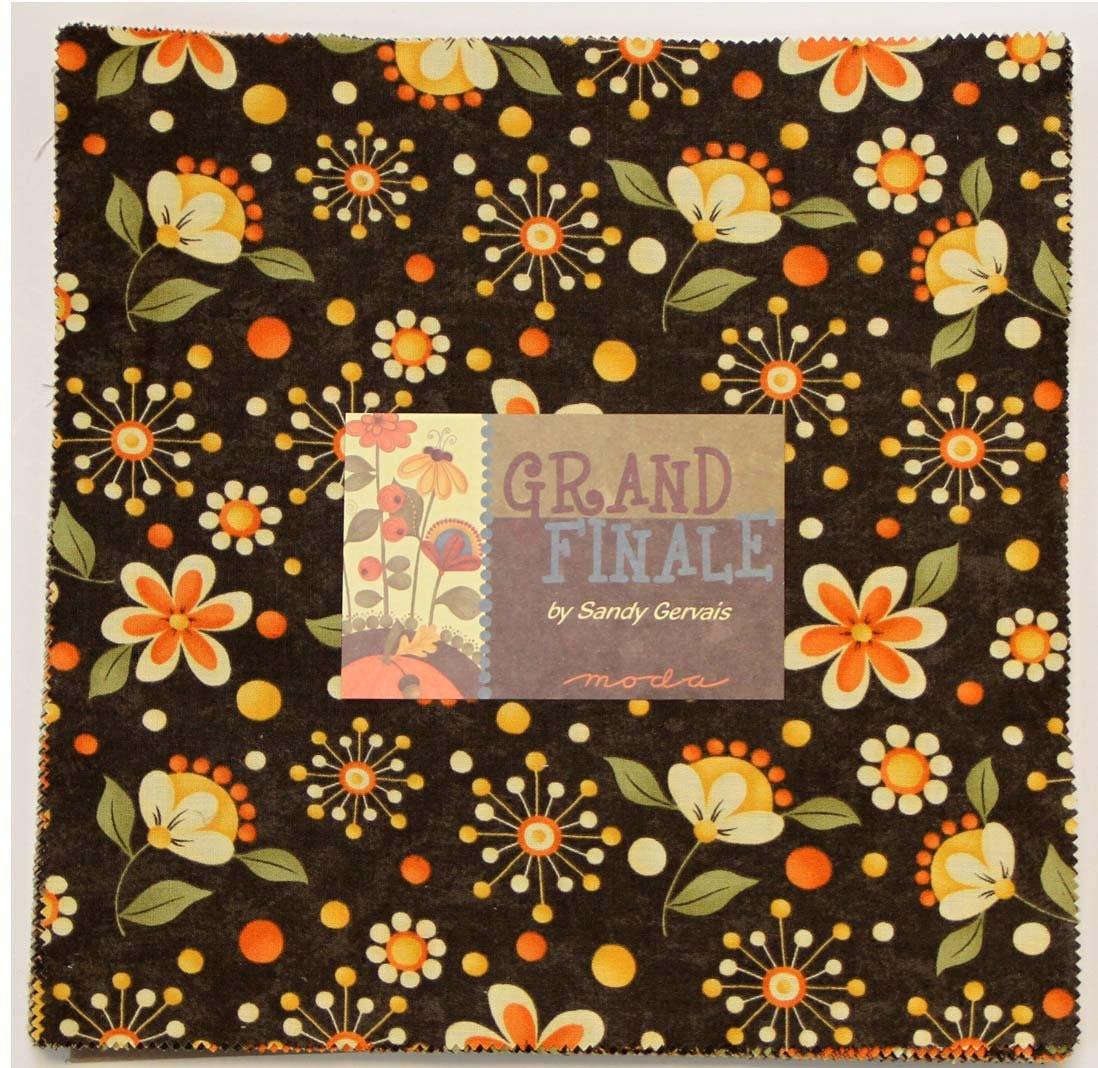 Layer Cake Quilt Missouri Star : GRAND FINALE Moda Layer Cake Quilt Fabric Squares by ...