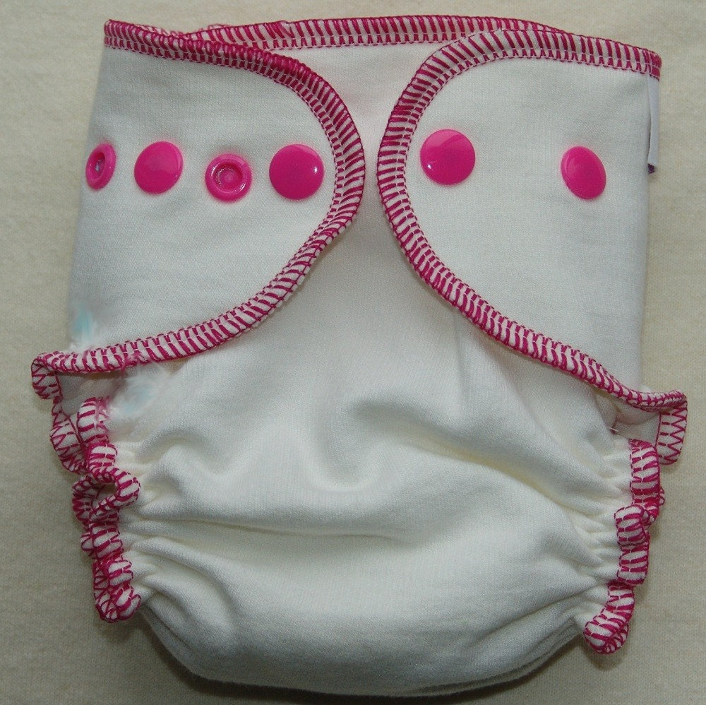 Sugar Plum Baby Newborn Single Diaper Bamboo