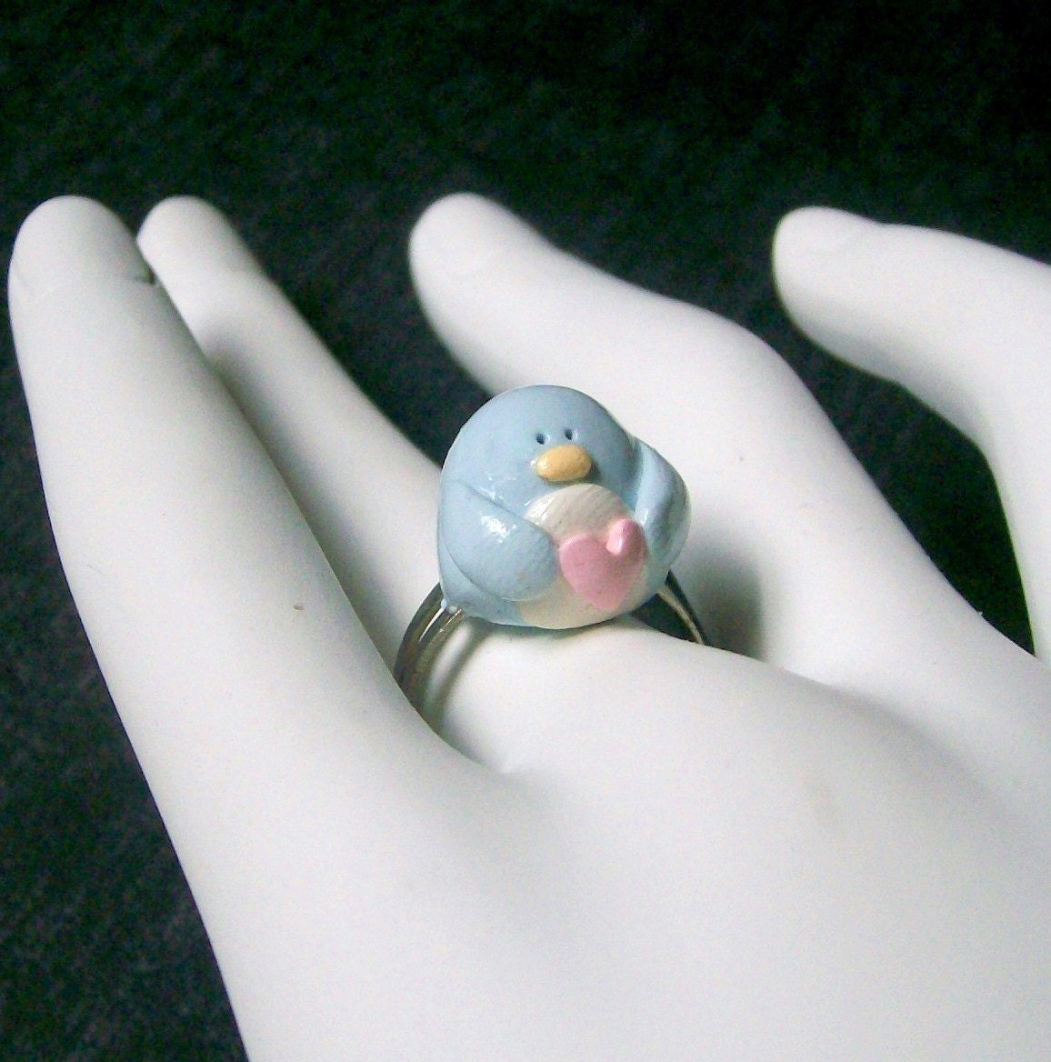 Be My Penguin Ring.