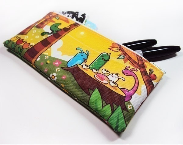 Tree Party Zipper Pouch