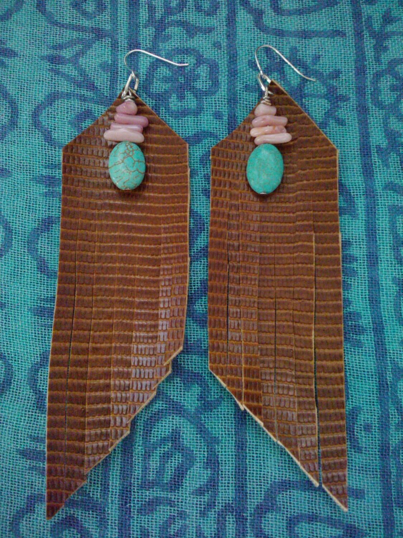 Nizhoni Earrings (faux leather)