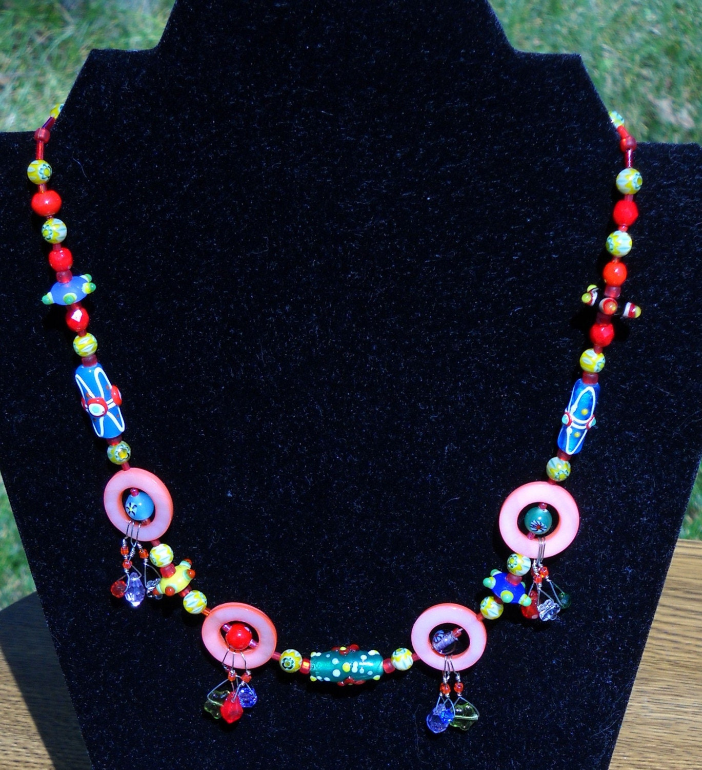 Fiesta 3 Planetary Party Necklace