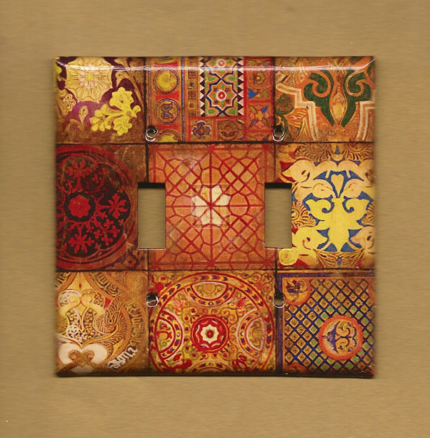 Mosaic Switchplate cover