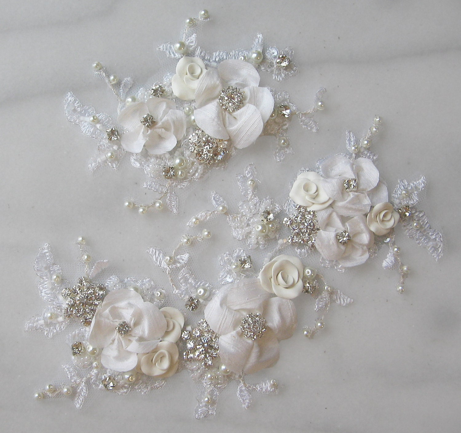Unavailable listing on etsy for Applique for wedding dress