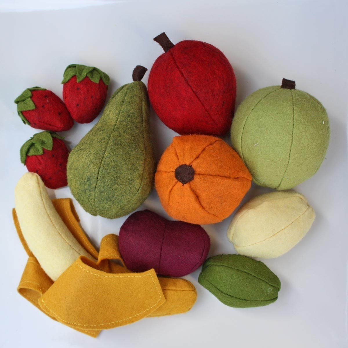 Limited Edition Felt Fruit Set