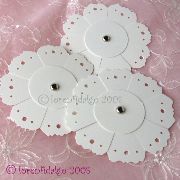 SNOWFLAKE GIFT TAGS SET OF 3
