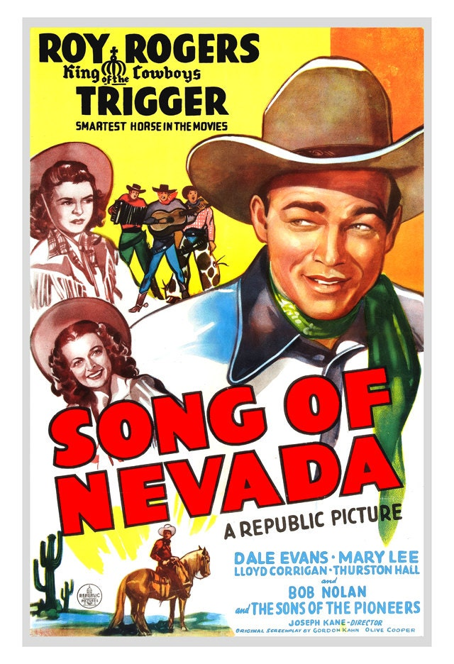 Roy rogers movie posters