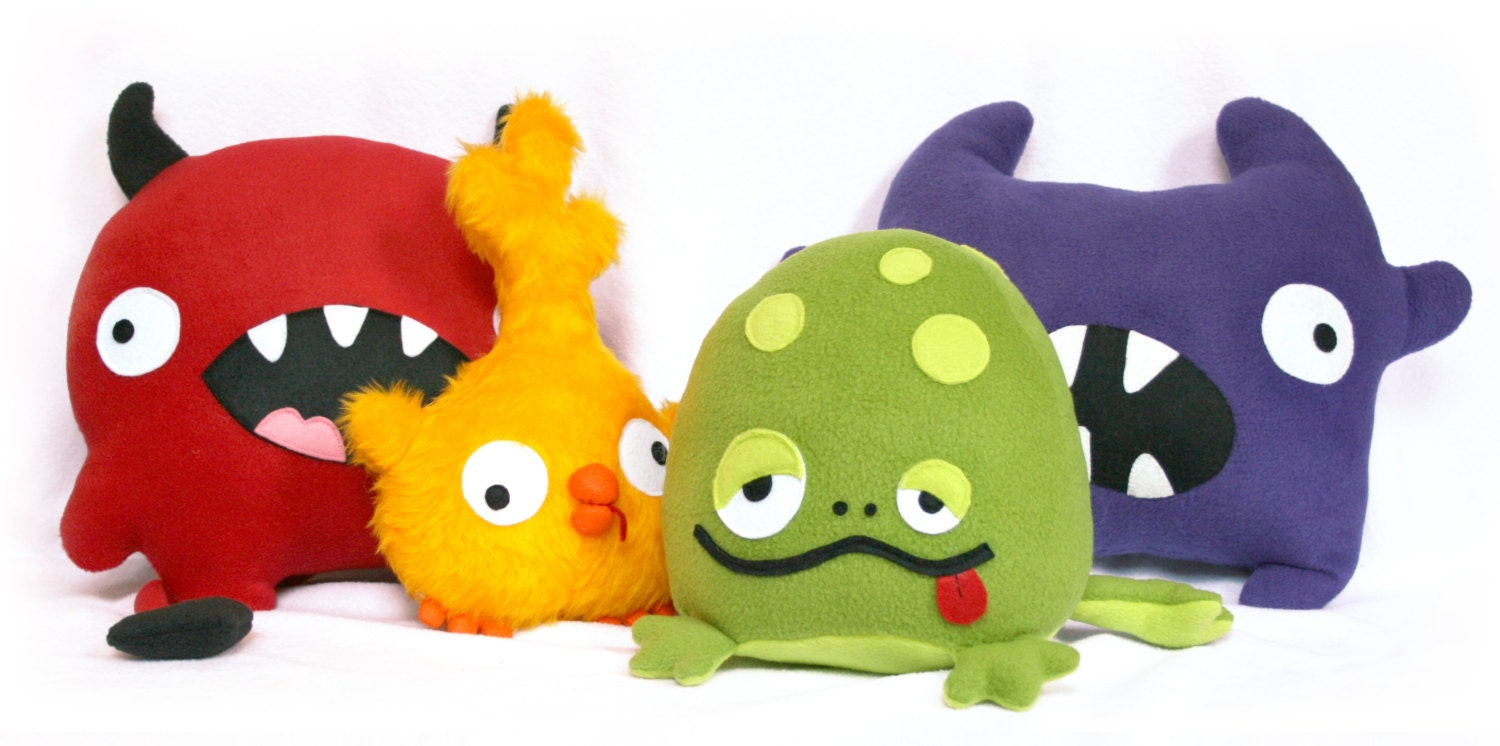 diy fluffies monsters