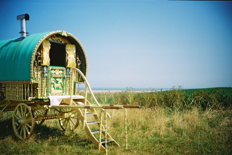 Gypsy Caravan by the Sea