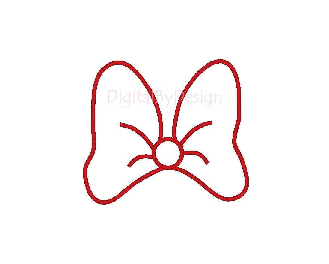 minnie mouse ears template just b cause