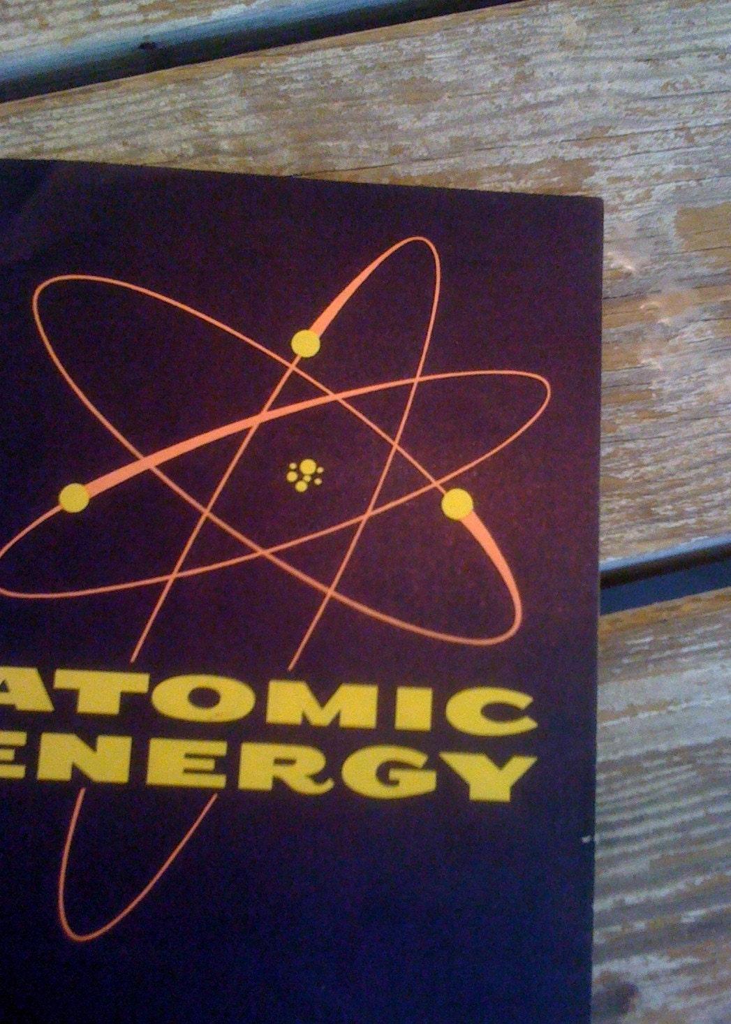 Con Edison ATOMIC ENERGY Vintage 1960s Printed Booklet RARE Paper Ephemera Advertising Propaganda - TooArtfulForYou
