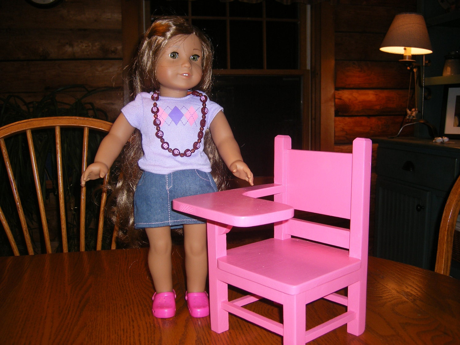 items similar to school desk for 18 inch dolls on etsy