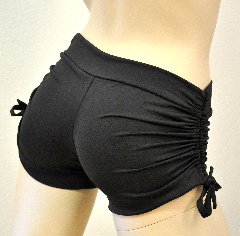 Hot Yoga Shorts Black Item 4050 By SXYfitness On Etsy