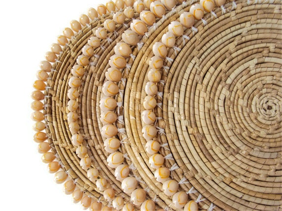 Paper Bamboo Plates Wicker Paper Plate Holders
