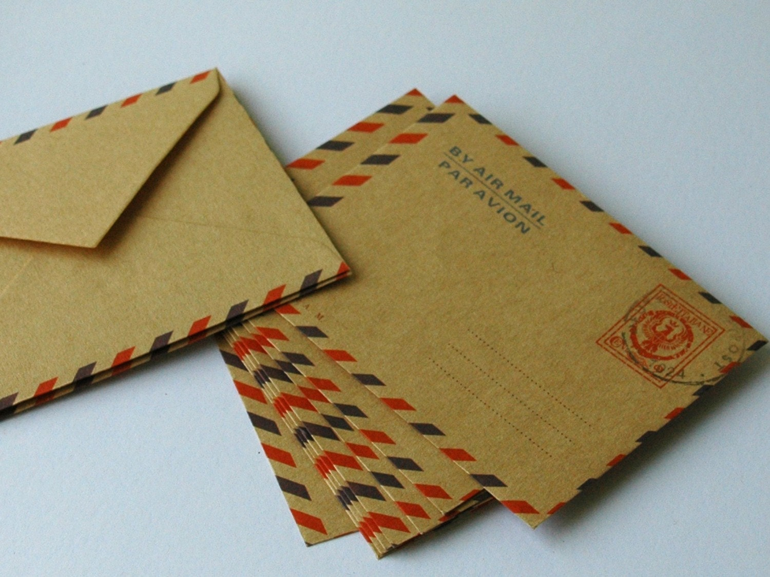 mini air mail envelopes