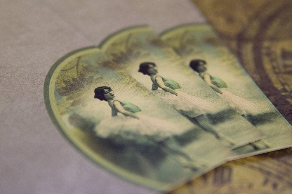 The Ballerina - Letter Set