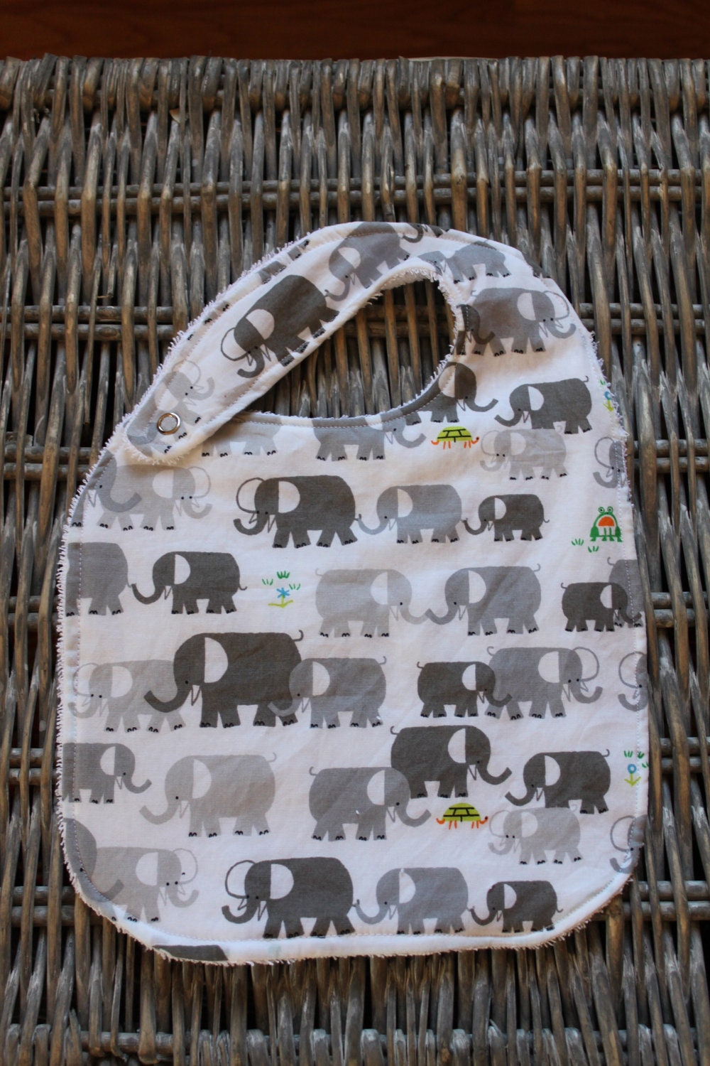 "Elephant Bib - Ed Emberley ""How to Draw"" - funlittlethings"