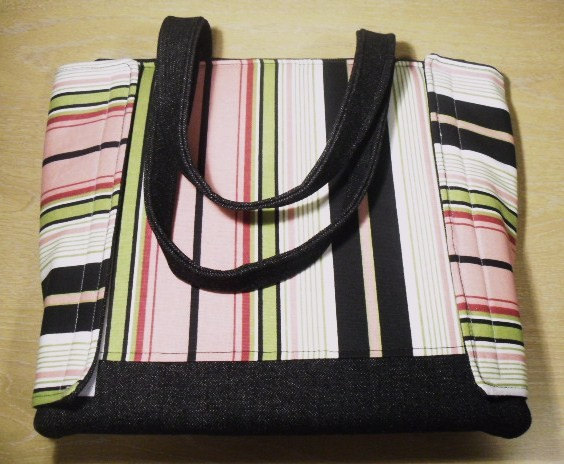 Stylin Binder Bag, Striped