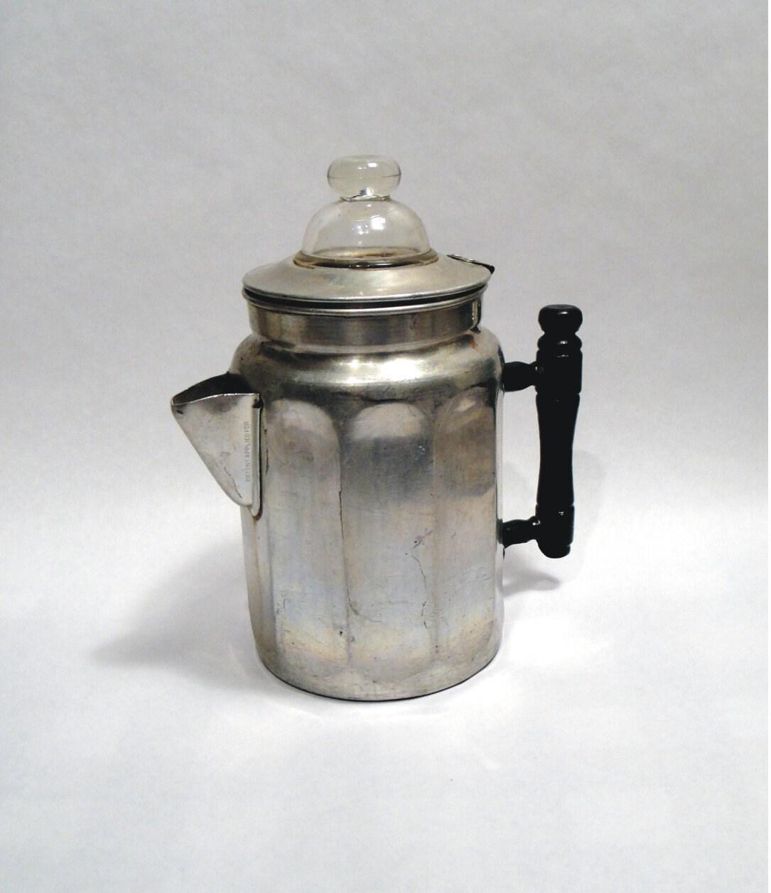 1912 Antique VTG Stove Top Coffee Pot Maker by Lifeinmommatone