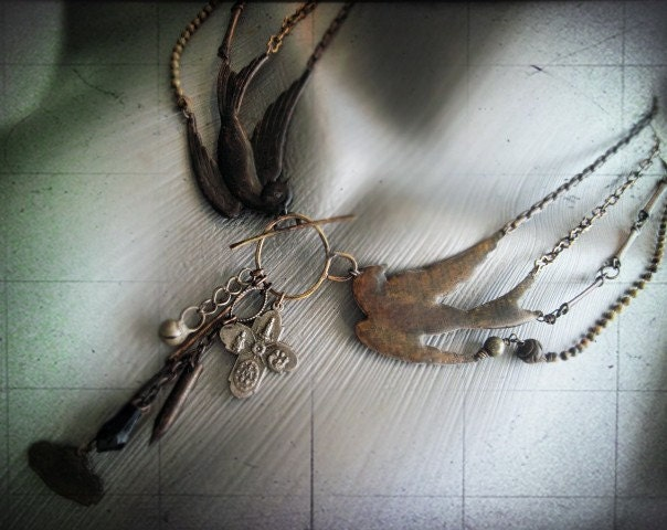 The Dull Soul of Sense. Necklace.