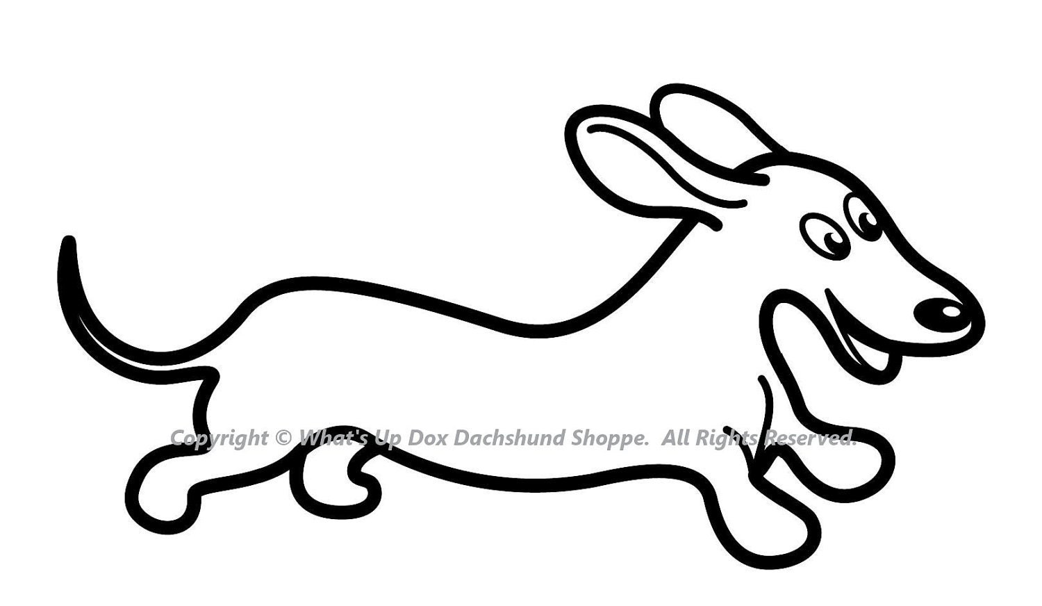 dachshund puppies coloring pages - photo#11