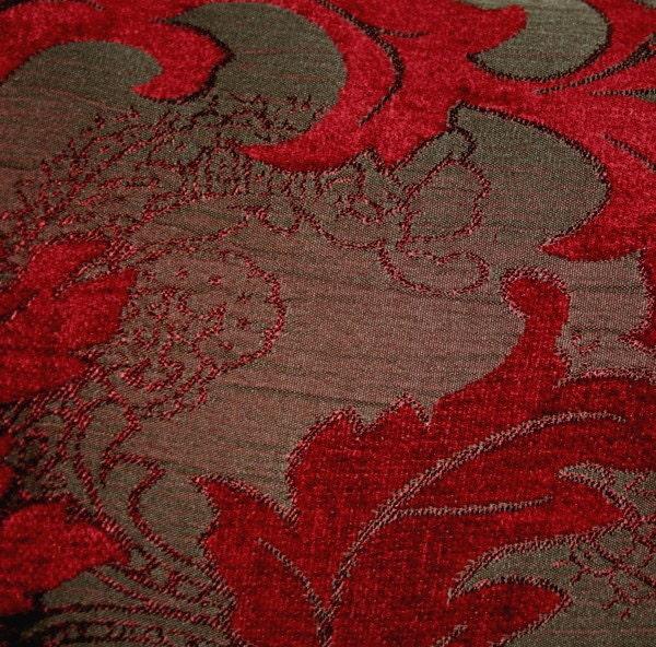 Red Velvet Decorative Pillows : Red Velvet Lumbar Decorative Pillow Covers Set of 2 by PatsTable