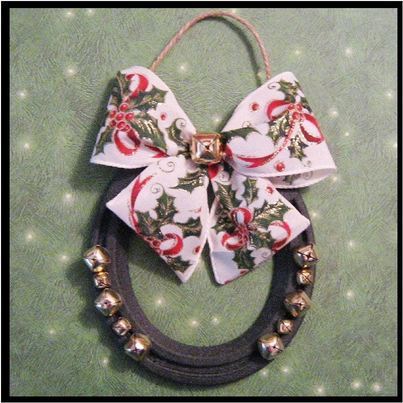 Holly Jolly Hoofer Doorhanger