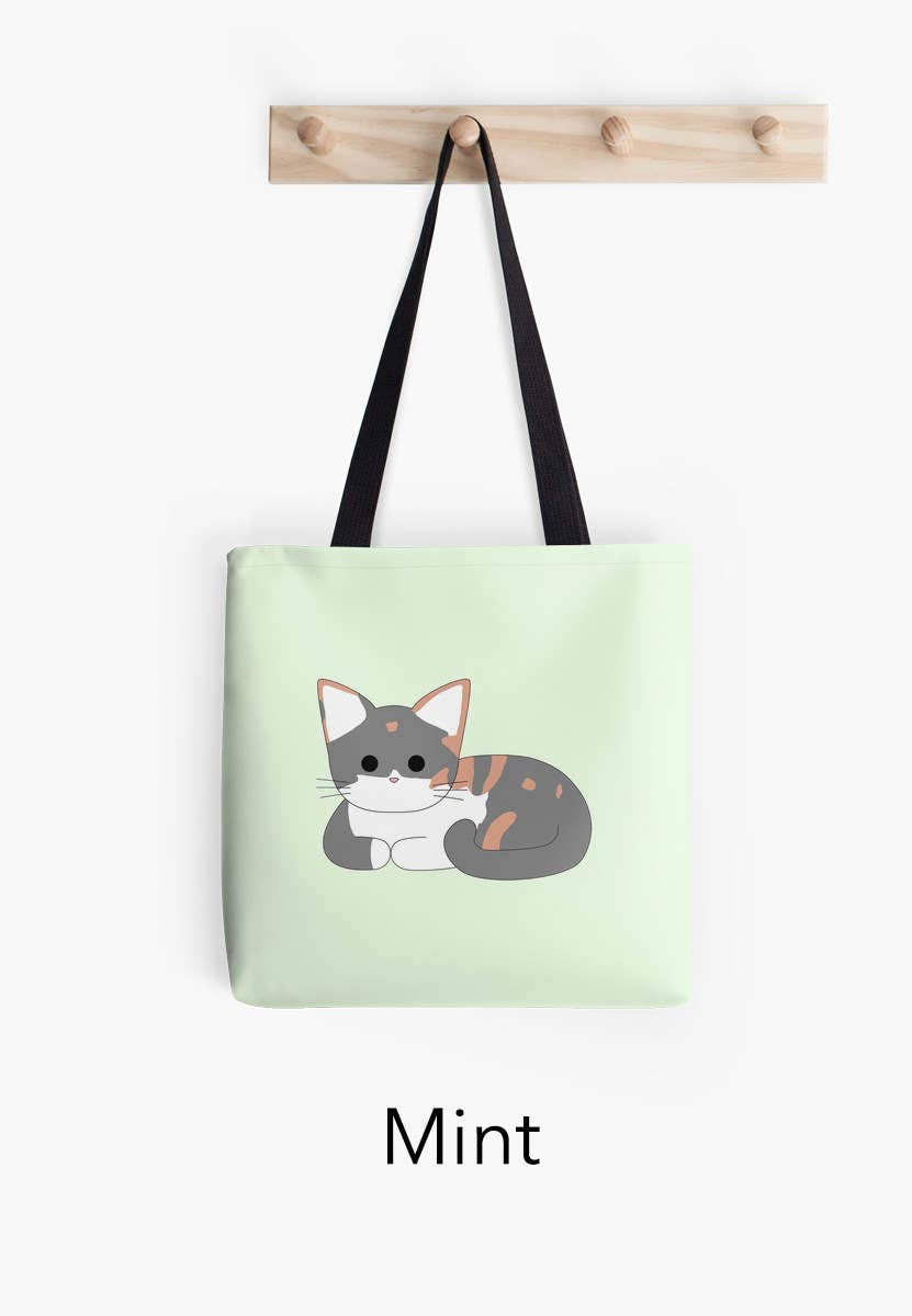 Clio Cat Loaf  Tote Bag (Multiple Colour Options)