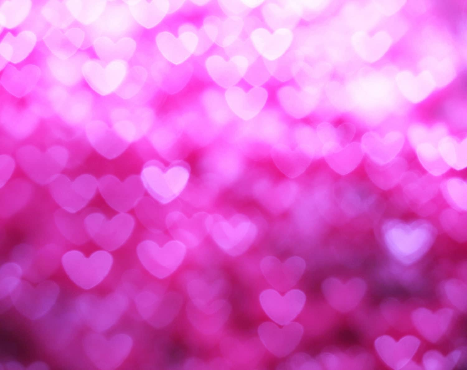 Pink heart Bokeh Backdrop