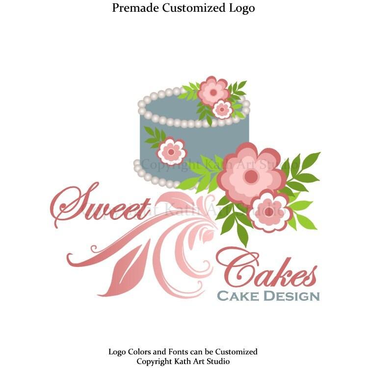 Items similar to Premade Business Logo Design Cake ...