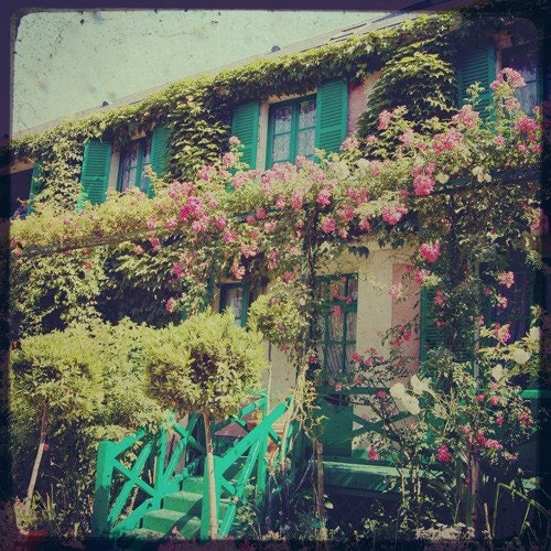 Monet's Home and Garden 4x4 inch photo
