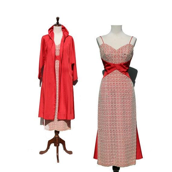 Lilli Diamond vintage dress & coat