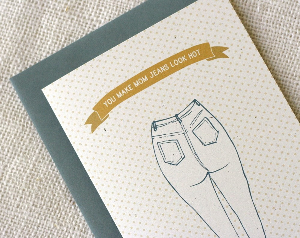 Mother's Day Card - Mom Jeans