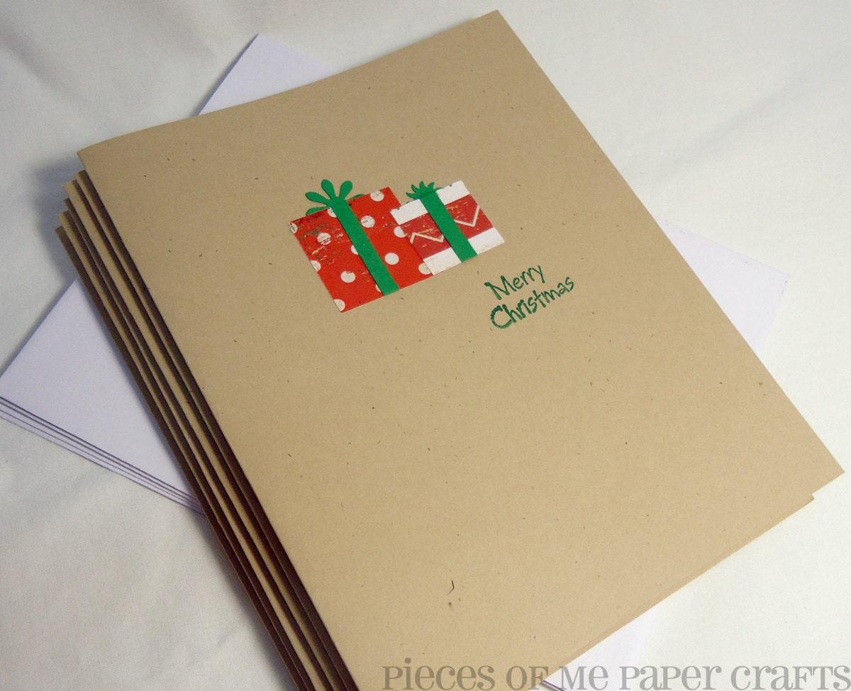 kraft Christmas cards