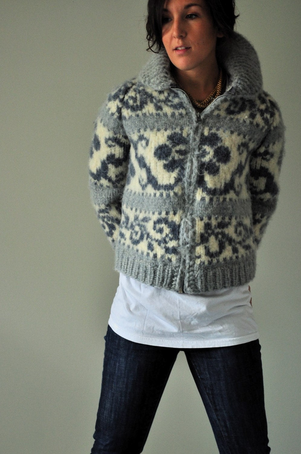 Cowichan Sweater by shanjessmac on Etsy