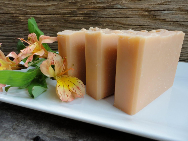 Cantaloupe & Lily Handmade Soap - ComfortandJoySoapCo