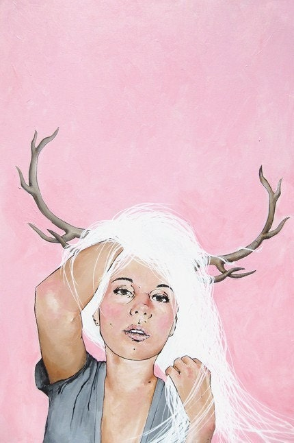 Headache - 9 x 12 print