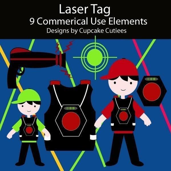 Lazer Tag Invitations for beautiful invitation design