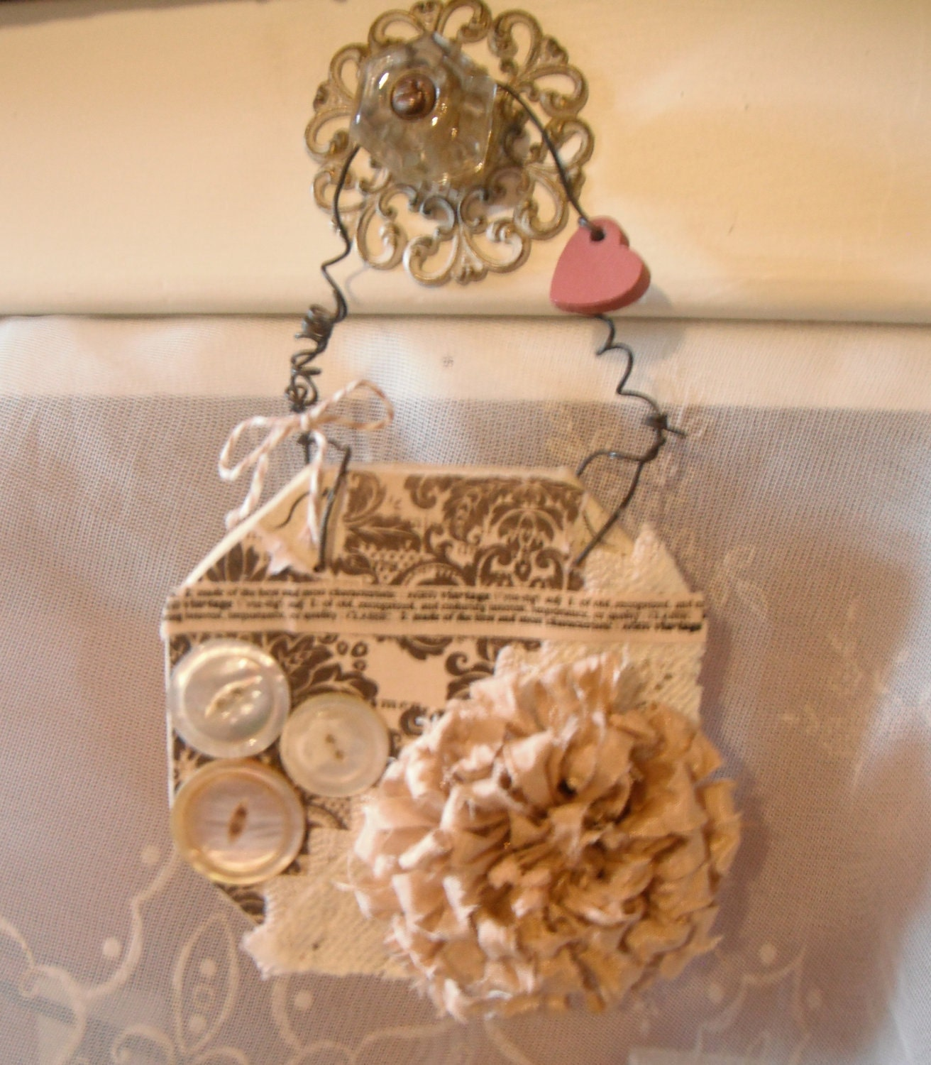 Shabby Wall Hanging