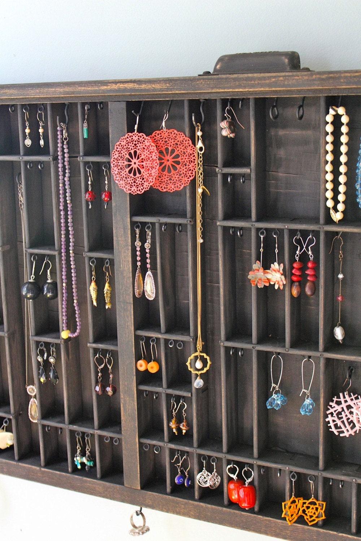 Printers Drawer Jewelry Display