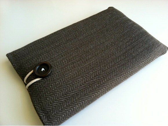 herringbone iPad Mini cover by Bertie's Closet